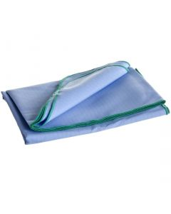 ResiStat Surgical Drape Sheet, 45x76in, Size M, Pack of 12