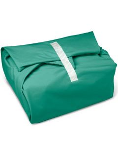 Astat Bias Bound Reusable Sterilization Wrap, Jade Green, 30in x 30in, Pack of 60