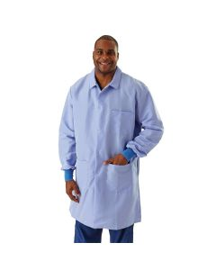 Men's ResiStat Lab Coat with Pockets, Size M
