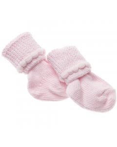 Infant Foot Warmers, Pink, 12 Pairs