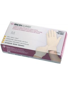 MediGuard Synthetic Exam Gloves, Size M