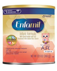 Enfamil A. R. Powdered Formula, 12.9 oz. Can, Case of 6
