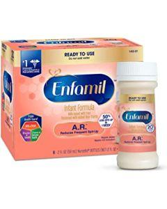 Enfamil A.R. Infant Formula for Spit Up, Ready to Use, 2oz Bottles