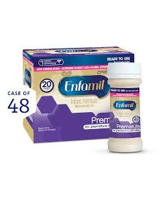 Premature Lipil with Iron 20 Cal Ready-to-Feed Infant Formula, 2oz Bottle