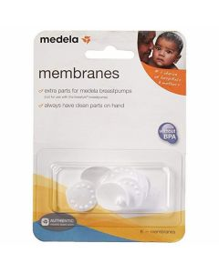 Replacement Membranes for Medela Breast Pumps, Pack of 6