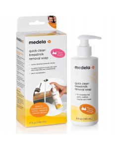 Medela Quick Clean Breastmilk Removal Soap, 6oz. Pump Bottle