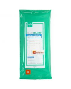 ReadyCleanse Perineal Care Cleansing Cloths (Wet Wipes), 8in x 8in, 5/Pack