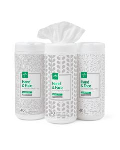 Hand and Face Cleansing Towelettes