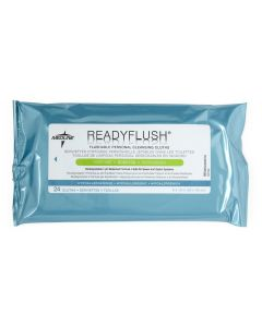 ReadyFlush Biodegradable Flushable Wipes Scented 24 Ct