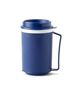 Medline Mug with Easy-Grasp Handle and Lid 12oz 1 Count