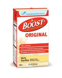 Boost Oral Supplement, Vanilla, Chocolate or Strawberry Flavor, 8 oz. Tetra Pack