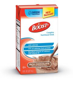Nestle BOOST Nutritional Supplement Chocolate 8oz 27Ct