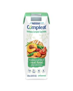 Nestle Compleat Tube Feeding Formula Unflavor 250mL 1Ct