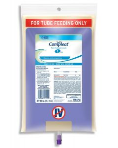 Nestle Compleat Tube Feeding Formula, 1000 mL