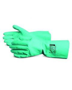 Chemstop 18mil Nitrile Flock-Lined Ind Gloves L 12Pr