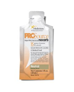 ProSource No Carb Sugar-Free Liquid Protein Nutritional Supplement, 1oz