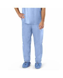 Disposable Scrub Pants with Elastic Waist, Size XL