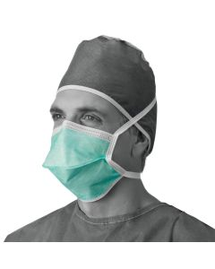 Chamber-Style Surgical Face Protection Mask