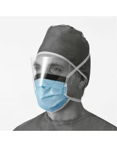 Anti-Fog Surgical Face Protection Mask With Shield