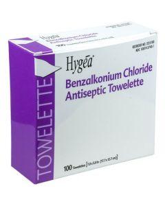 Benzalkonium Chloride Antiseptic Towelette, Alcohol Free, Case of 2000