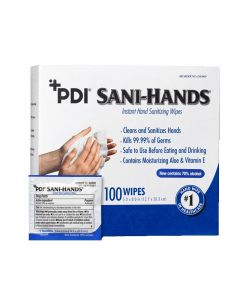 Sani-Hands Instant Hand Sanitizing Wipes 100 Count