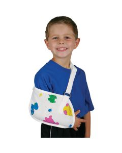 Arm Sling with Pediatric Print, Infant / Toddler /Child Fit