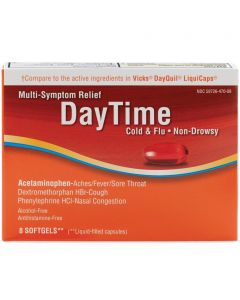 Daytime Cold and Flu Multi Symptom Relief Medicine OTC000877 by