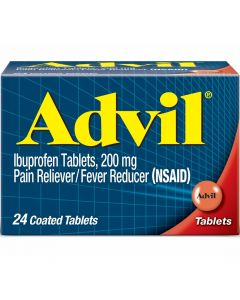 Iboprofen Pain Reliever Advil 200 mg