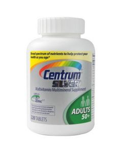 Centrum Silver Tablet, Adult 50+, 220/Bottle