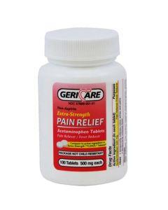 GeriCare Acetaminophen Extra Strength 500mg