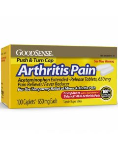 GoodSense Arthritis Pain Relief Acetaminophen Extra Strength 650mg