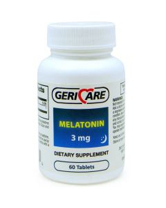 Melatonin Tablet, 3 mg, 60/Bottle