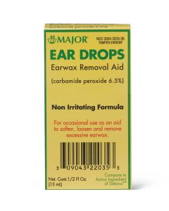 Major Ear Wax Drops 0.5oz