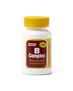 Vitamin B Complex Tablet, Softgel, 100/Bottle