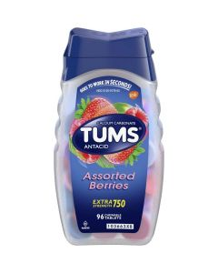 TUMS Extra Strength Antacid Heartburn Relief