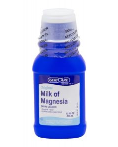 GeriCare Milk of Magnesia, 16 oz OTCQMOM12H by GeriCare