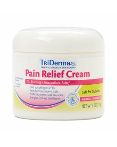 TriDerma Pain Relief Cream, 4oz