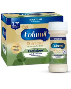 Enfamil ProSobee Lipil 20 Cal Ready-to-Feed Infant Formula, 2oz