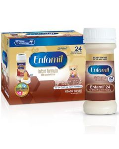 Enfamil 24 Cal Term Feeding Ready to Use Infant Formula, 2oz Bottles