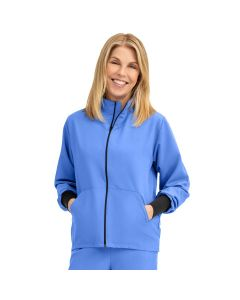 Unisex Self-Piping Track Jacket with Pocket - Shop All