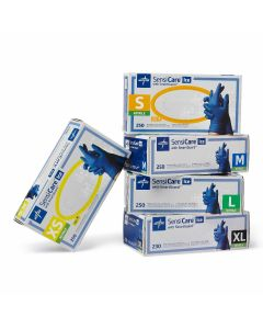 SensiCare Ice Powder-Free Nitrile Exam Gloves