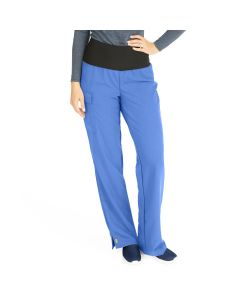 Ocean ave Women's Support Waistband Scrub Pants with Cargo Pocket - Shop All