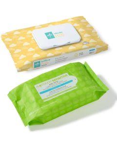 Medline Baby Wet Wipes Plus, Fragrance-Free