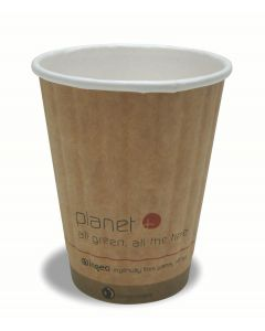 Planet+ Double-Wall Hot Drinking Cup, 8oz