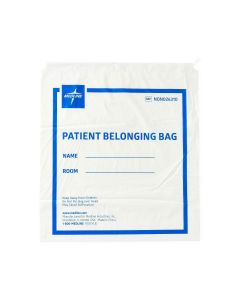 Medline Plastic Patient Bag with Drawstring - Shop All