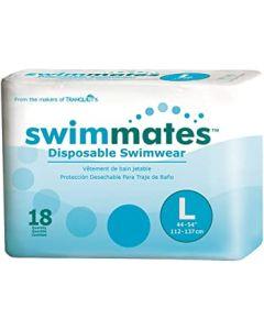 Swimmates Swimwear, Size Large, 44in - 54in, 170-210 lb, Case of 72