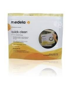 Medela Quick Clean Micro-Steam Bags 5Ct