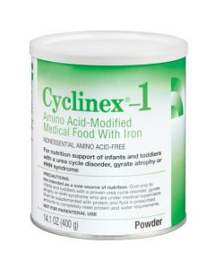 Cyclinex-1 Amino Acid -Modified Nutrition Support for Infants and Toddlers