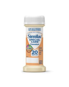 Similac Special Care 20 Infant Formula with Iron, 2 oz Bottles, 4/Pack