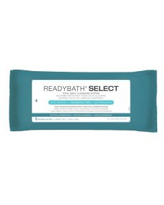 ReadyBath SELECT Bathing Wipe Unscented 150Ct